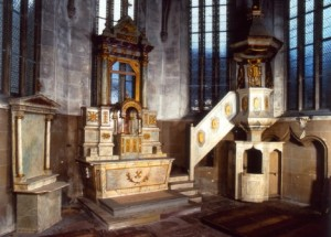 Martinskapelle Altarraum