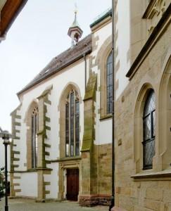 Martinskapelle Außenansicht