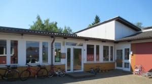 """Evang. Kindergarten """"Der gute Kirte"""" Hohenstaufenstr. 28, 76646 Bruchsal-Heidelsheim Hinter dem Gemeindehaus"""