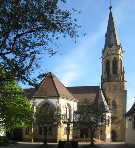 Evang. Stadtkirche Merianstr. 20, 76646 Bruchsal-Heidelsheim Weiterer Eingang von der Wettgasse aus