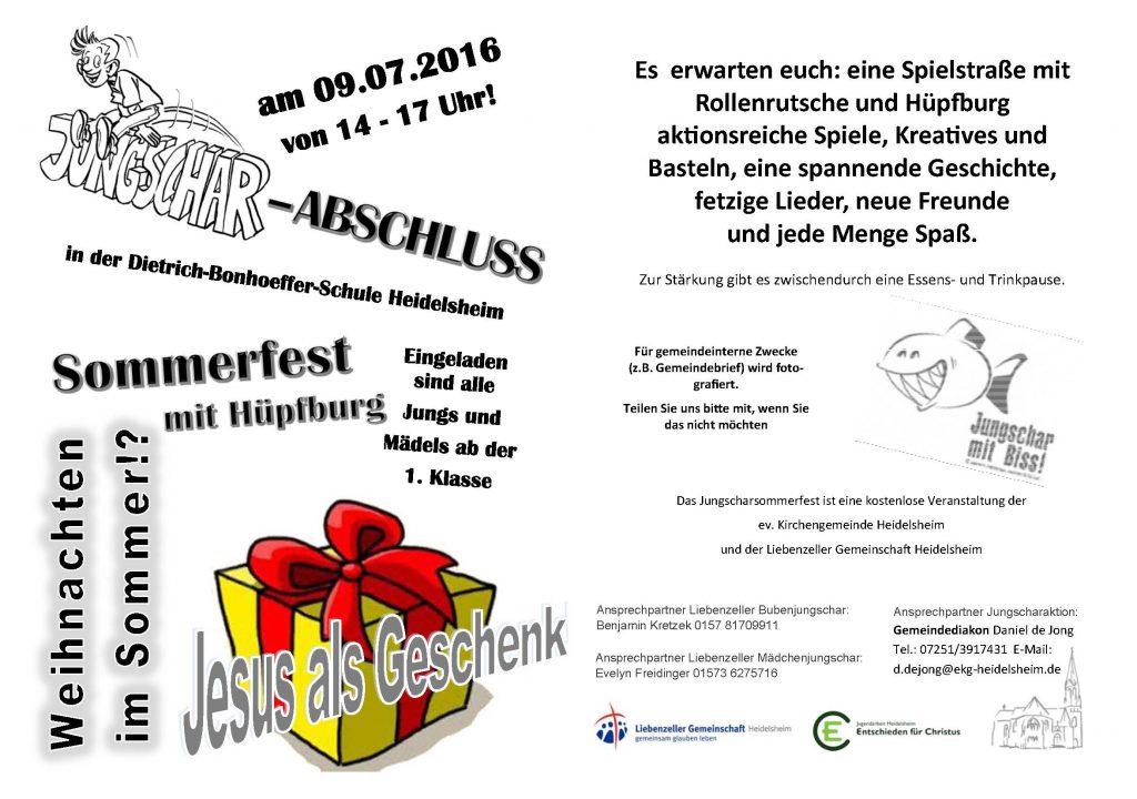 2016-07 Sommerfest